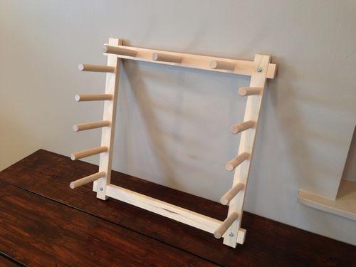4.5 Yard Hard Maple Warping Board for a Weaving Loom