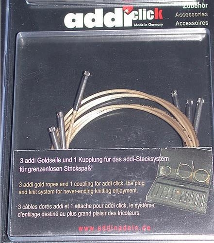 ADDI CLICK AUSTAUSCHBARE SEILE Basic -3er Set