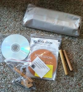 All  in one Loom. Authentic KB Knitting Board + Kb Sock Loom + Yarn!