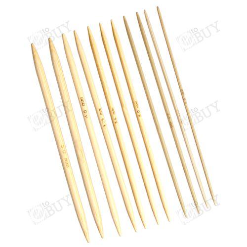 Alu/Bambus Häkelnadel Stricknadel Häkelnadeln Stricknadeln Rundstricknadel Set