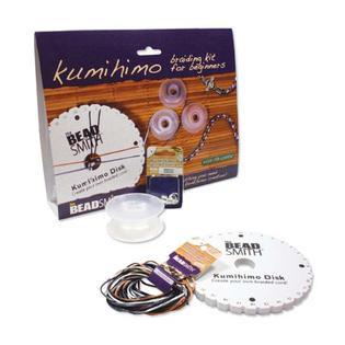 Beadsmith Kumihimo Kumi Himo Kit Japanese Braiding Cord Yarn Jewelry Craft