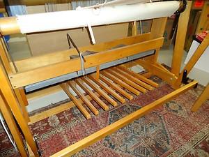 Beautiful Floor Loom, Supplies and Yarn
