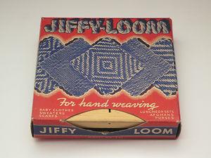 Calcraft Jiffy-Loom Hand Weaving Wood Adjustable W/Adjusta-Bar #401 IOB