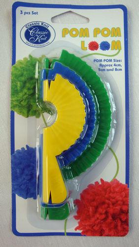 Knitting Loom Pom Pom Maker : Classic knit pom loom maker