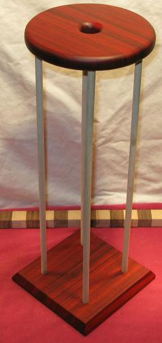 """Handmade 17"""" x 7-1/2"""" Paduak Marudai for Kumihimo"""