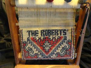 LOOM FOR WEAVING RETRO WOODEN CHARLOTTE ROBERTS LOCKER FIND