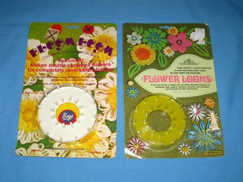 Lot 2 Boye & Studio Twelve Crochet Flower Looms & Instructions!