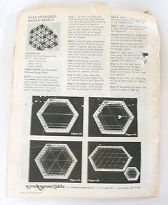 Love & Money Crafts Hexagon Lap Weaving Looms Set Of 4