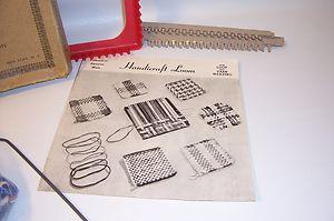 Potholder Weaving Loom Lot Vintage Metal Pot Holder Loops