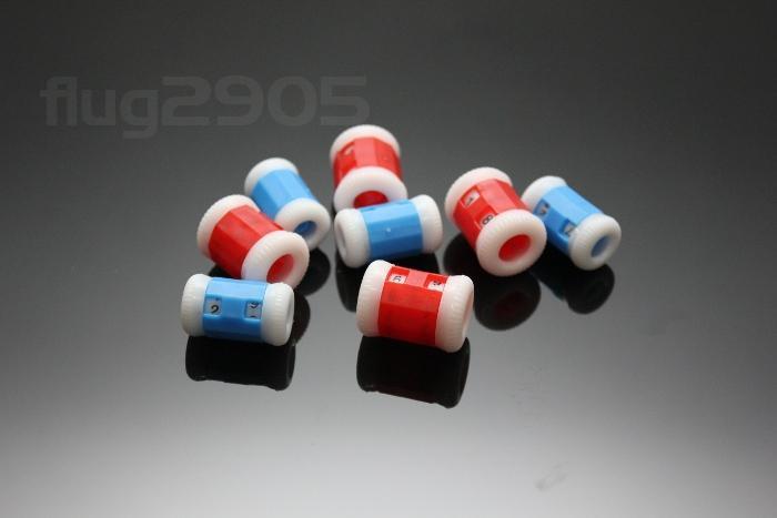 Reihenzähler universal 8 Stück Strickzähler Klein + Groß 0-99