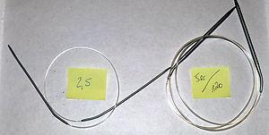 Rundstricknadel Stricknadeln Set Größe * 2,5 * 5 * Sonderlängen selten