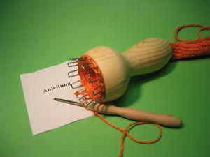 Strickliesel mit 12Haken & Stricknadel Wolle häkeln