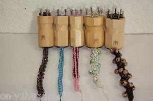 Strickpuppe Strickliesel 4-8 Haken Mein Hobby Rund oder Eckig Holz