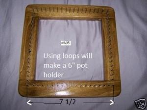 U~WEAVE LOOMS #605 Pot Holders