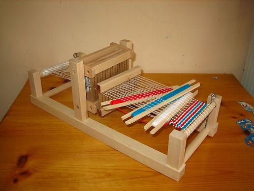 WOODEN WEAVING LOOM FROM BULGARIA Weaving Looms