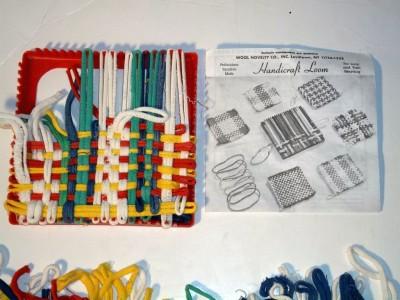 Wool Novelty Co Handicraft Loom Loop Yarn Weaving W Instructions Loops