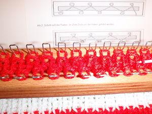 XXL Strickstab mit 70 Haken Stricknadel Strickliesel stricken für jung und alt